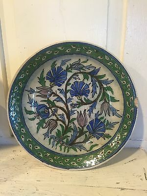 17th C Persian Antique Islam Iznik Ceramic Bowl