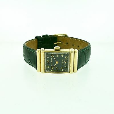 Waltham Rectangular Gold Filled Manual Wind Wristwatch c. 50s