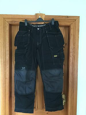 """SNICKERS Work Trousers Size 36""""W X 32"""" L"""