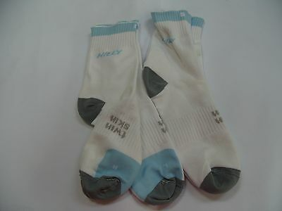 2 X HILLY Twin Skin   Sock  running  sports socks SIZE S 3-5 NEW ANKLET RUN