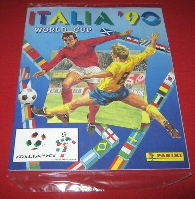 Sealed Panini FIFA World Cup ITALY 90 No Sticker Album Images Complete Reprint