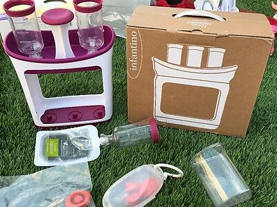Infantino Fresh Squeeze Station Make Your Own Baby Food Pouches
