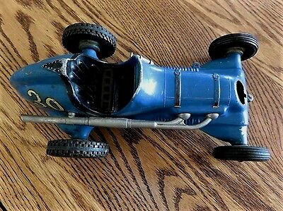 VINTAGE 1950s COX Blue THIMBLE DROME TETHER RACING CAR SANTA ANA, CA #30