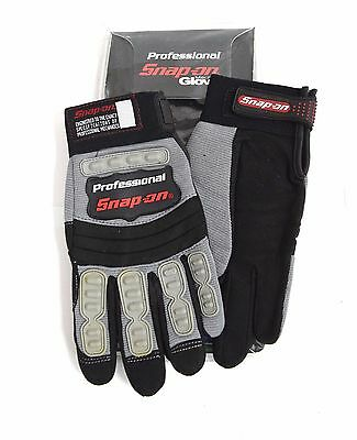 New Snap-On Professional Mechanic Gloves GREY Small Workwear S Mountain Bike