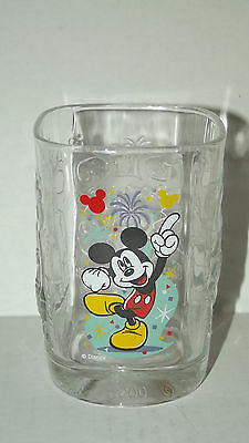 2000 Walt Disney World Magic Kingdom CELEBRATION McDonalds Collectible Glass Cup