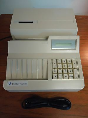 Standard Register TE1916 Batch Encoder w/journal - Cleaned, Tested, great print!