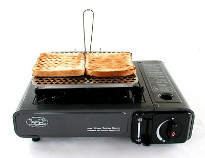 Camping Stove Toaster Portable Outdoor Toast Rack Hiking Fishing Cook Bread NEW