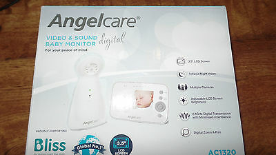 angelcare ac1320  digital video baby monitor