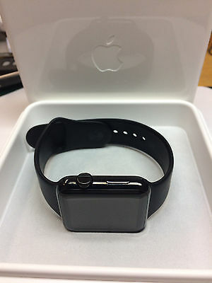Apple watch 316L Black Stainless and Ceramic with Extra Bands