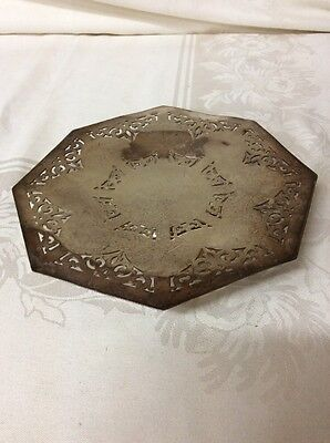 SPNS Silver Plated Vintage Small Tray