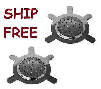 2x Metal Charcoal Screen for Shisha  Bowl Hookah pipe excellent quality two