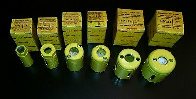 Starrett Safe-Flex Hole Saw Lot of 6