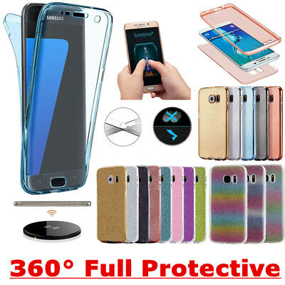 Shockproof 360° Silicone Protective Case Cover For Samsung Galaxy S8 & S8 Plus +