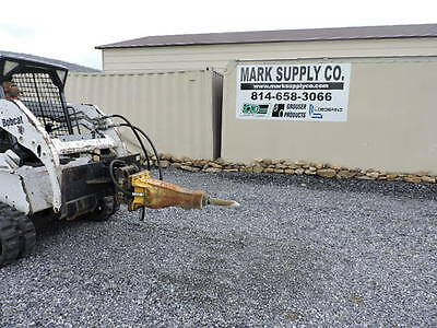 Atlas Copco SBU220 Hydraulic Demolition Hammer Breaker Bobcat Skid Steer Loader