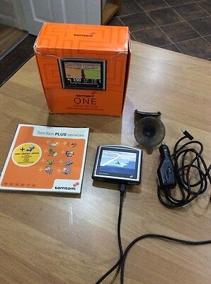 TOMTOM ONE - NEW Edition Great Britain Boxed Full Working Order