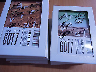 GOT7 - FLIGHT LOG : ARRIVAL (Promo) with Autographed (Signed)