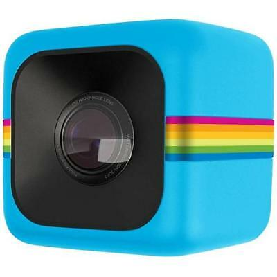 POLAROID Cube Blu Action Cam Sensore CMOS Filmati Full HD Antiurto e Splash Proo