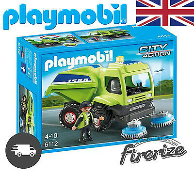 Playmobil 6112 City Action City Cleaning Street Cleaner - Fast Dispatch √