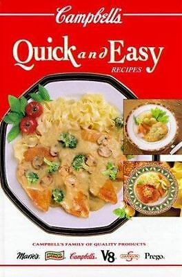 Campbell's Quick and Easy Recipes by Patricia Teberg (1994, Hardcover)