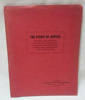 STORY OF APPLES Washington State Apple Commission 1950's Brochure Report