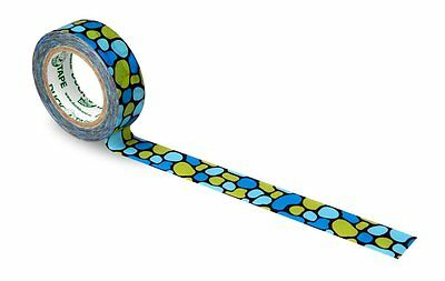 Duck Tape 221334 Washi Aqua Cobbles, 15 mm x 10 m
