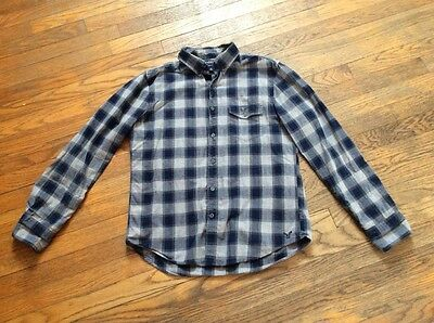 american eagle outfitters mens dress shirts. used medium lot of 2