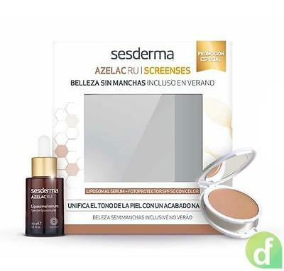 Promo Azelac RU Serum Liposomado, 30 ml. + Screenses color Fotoprotector compact