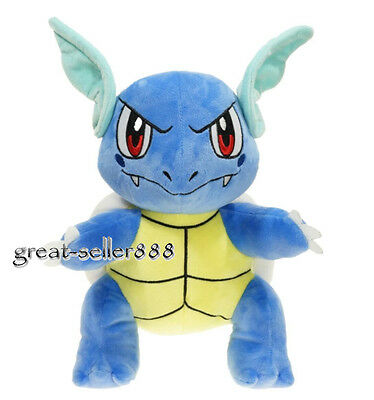 Pokemon Center Wartortle Stuffed Animals Plush Doll Toy 12 inch Collectible Gift