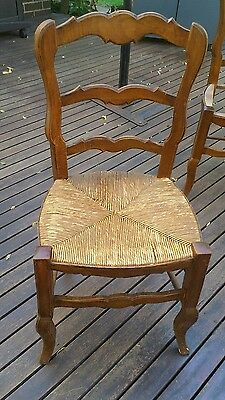 ANTIQUE CHAIRS (set of 6)