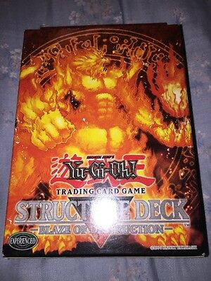 Yugioh Blaze Of Destruction Structure Deck Fire Brand New And Sealed Old Hot