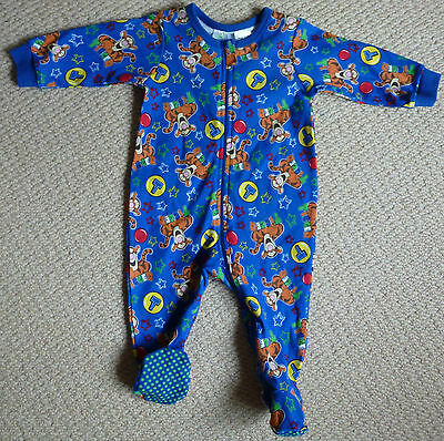 NWT Disney Baby Licensed Tigger Boys Romper Coverall Onesie Size 00 or 0