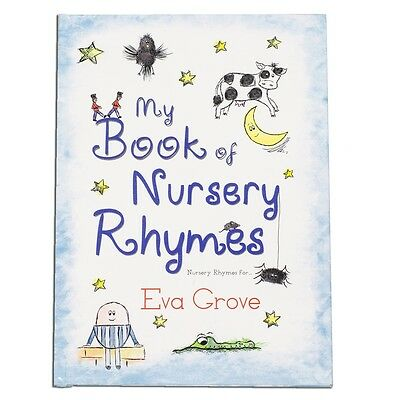 Personalised My Book Of Nursery Rhymes (Hardback)