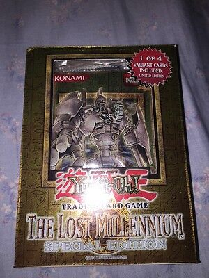 Yugioh The Lost Millennium Special Edition Brand New And Sealed Old Hot