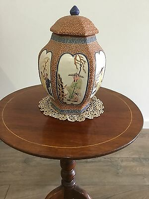 Antique Oriental Asian Vietnamese Articulated Vase / Jar