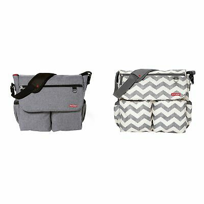 Skip Hop Dash Signature Magnetic Closure Baby Changing Bag With Mat