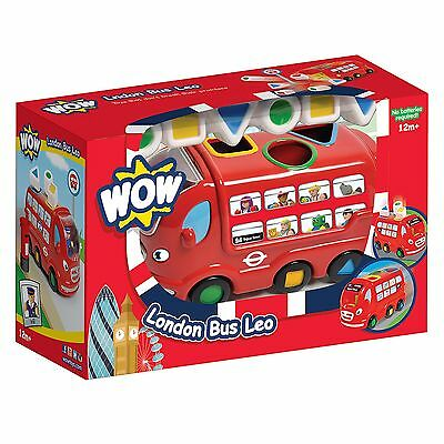 WOW Toys Sorting Child Kids ToySet - London Bus Leo