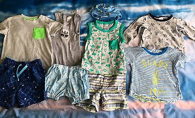 Baby Boy Size 00 Summer Clothes Set