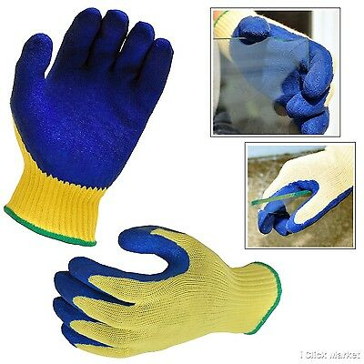 CUT PROOF SAFETY GLOVES Stab Resistant Butcher Kevlar Work Glove Protective Gear