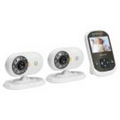 Digital Video Baby Monitor with Two Cameras Black and White Wireless WiFi New
