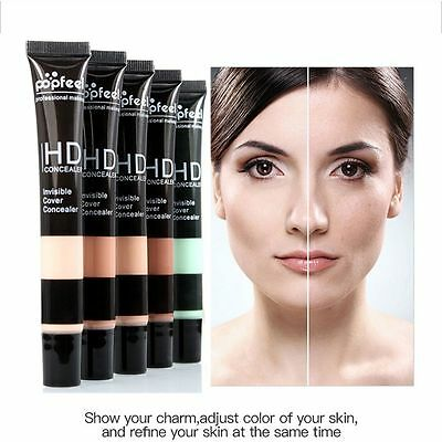 Makeup Full Cover Primer Concealer&Corrector Cream Face Foundation Contour