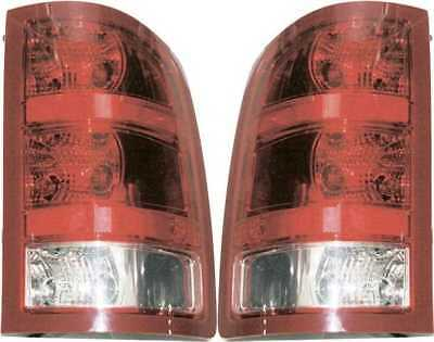 Left Right Pair of Tail Light Assemblies fits GMC Sierra w/Lifetime Warranty