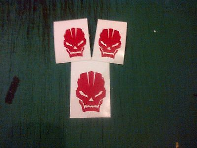 Skull Controller Elite Black Ops Decal Stickers All colours