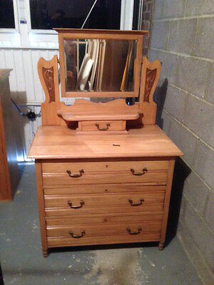 antique chest of drawers dressing table