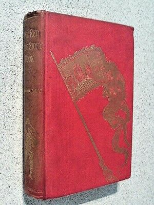 "Rare,andrew Lang-- "" The Red True Story Book"" 1St Edition 1895 Hardback"