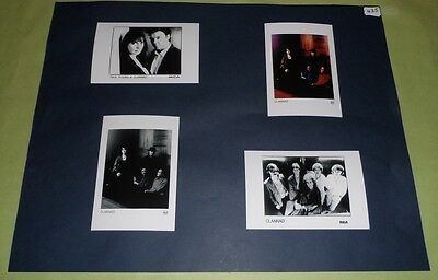 "Clannad Set of 6""x4""Inch Photos x4 Collectable Memorabilia Folk Prints J435"