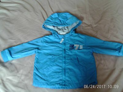 Baby Boy,s Spring / Summer Hooded Jacket age 3/6 Months