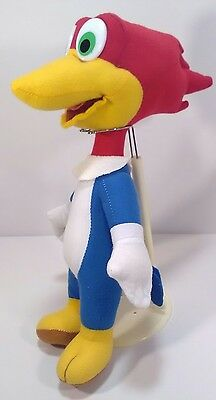 "Vintage 14"" Woody Woodpecker Plush Stuffed Animal EUC!"