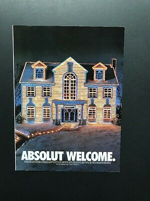 Absolut Welcome | Vintage Print Ad | Alcohol South Home Christmas Decoration