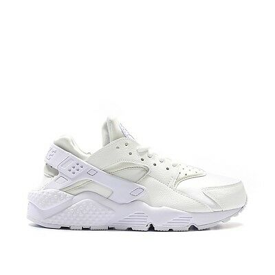 NIKE W AIR Huarache Run Ultra   819151-102 White   Black Women Size ... 164bd06e94e8