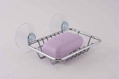 NEW Classic Wire Soap Dish/Basket/Holder Bath Shower Sink with 2 Suction Cups